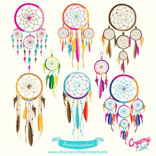 Boho tribal clipart clipart freeuse download Dreamcatcher Digital Vector Clip art/ Tribal Boho Digital .. clipart freeuse download