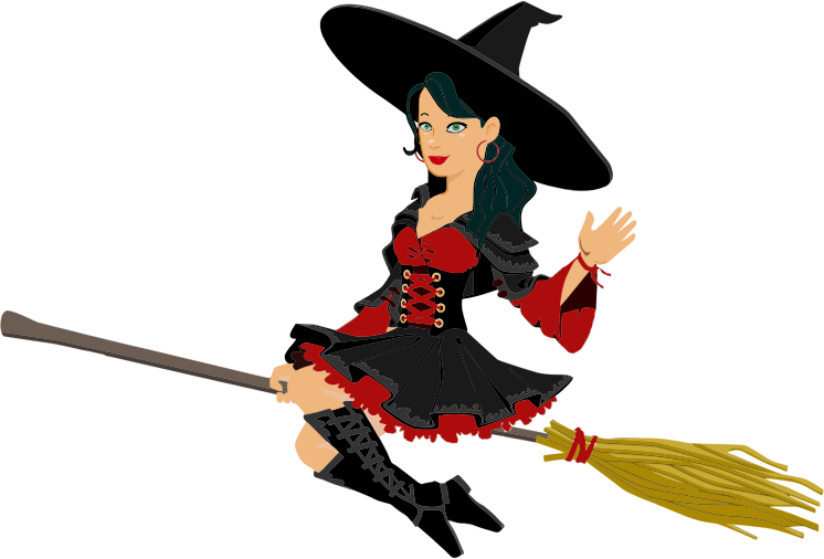 Free Witches Broom Clipart, 1 page of free to use images banner transparent