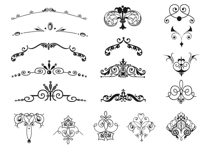 Bold decorative sign border for anttique signs clipart svg freeuse stock Vintage Border and Ornament Brushes Pack - Free Photoshop Brushes at ... svg freeuse stock