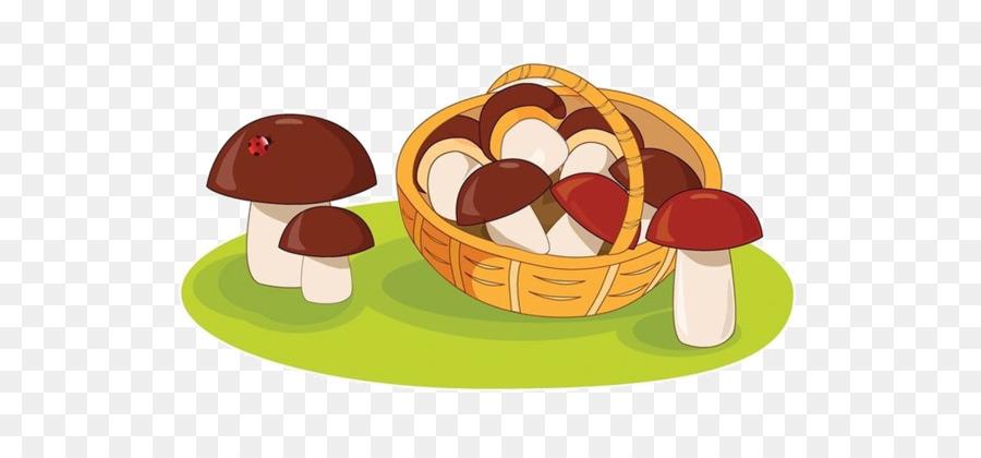 Boletus clipart download Mushroom Cartoon png download - 600*417 - Free Transparent Edible ... download