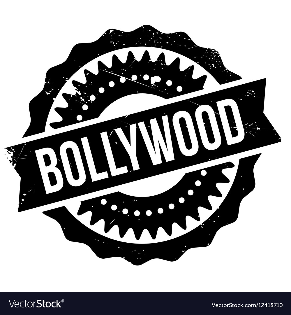Bollywood sign black clipart graphic black and white stock Famous dance style bollywood stamp graphic black and white stock