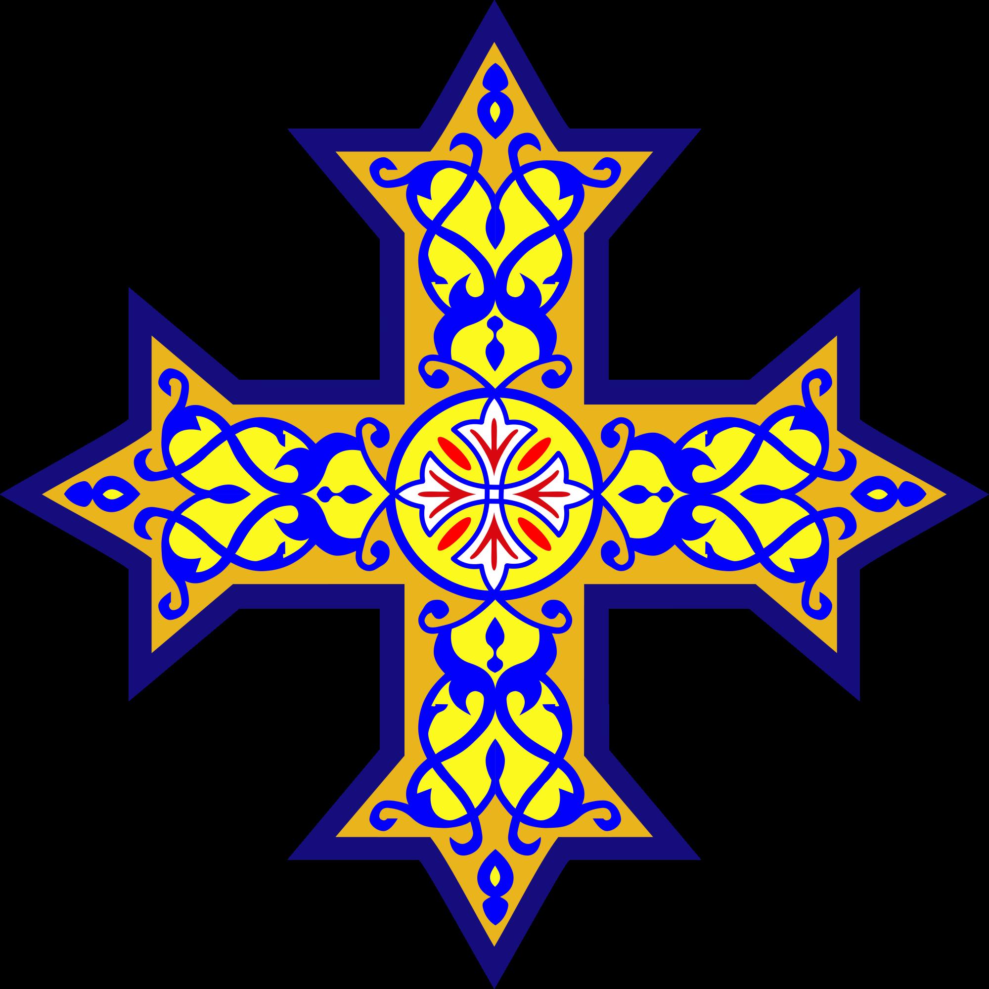 Coptic cross - Wikipedia picture transparent