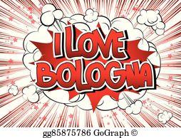 Bologna clipart picture free library Bologna Clip Art - Royalty Free - GoGraph picture free library
