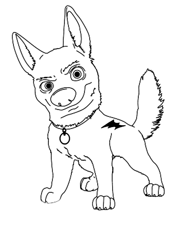 Bolt the dog clipart banner royalty free Disney dog clipart black and white - ClipartFest banner royalty free