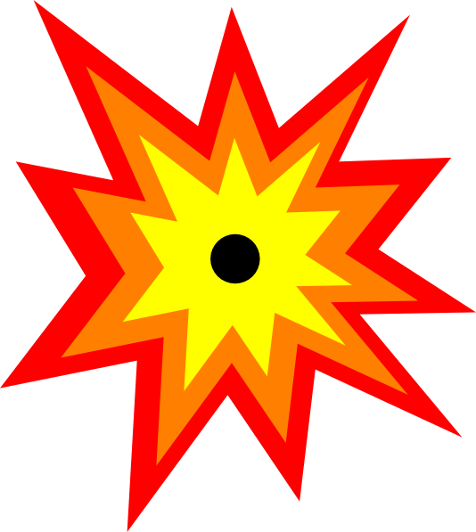Bomb blast clipart vector freeuse Image of blast clipart 6 bomb clip art images free for 2 - ClipartBarn vector freeuse