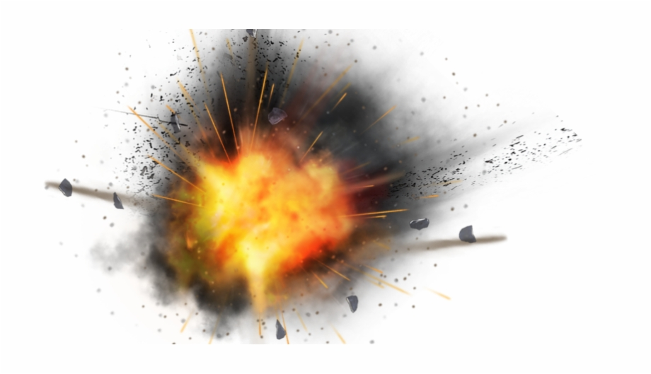 Bomb blast clipart picture black and white library Fire Explosion Png Image - Png Bomb Blast Background Free PNG Images ... picture black and white library