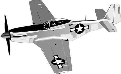 Bomber plane clipart black and white stock Military bomber plane free clipart - ClipartFest black and white stock