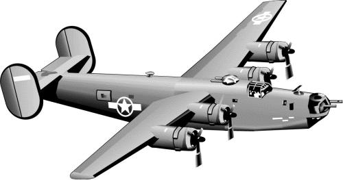Bomber plane clipart clip art library Bomber plane clip art - ClipartFest clip art library