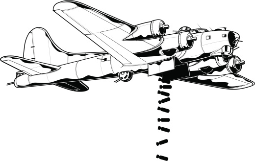 Bomber plane clipart svg stock Bomber plane clip art - ClipartFox svg stock