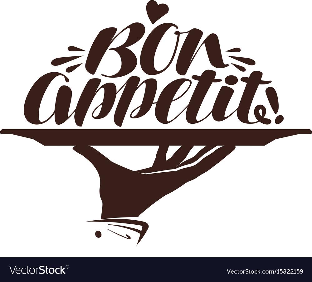 Bon appetit logo clipart png royalty free download Bon appetit logo label for design menu restaurant png royalty free download
