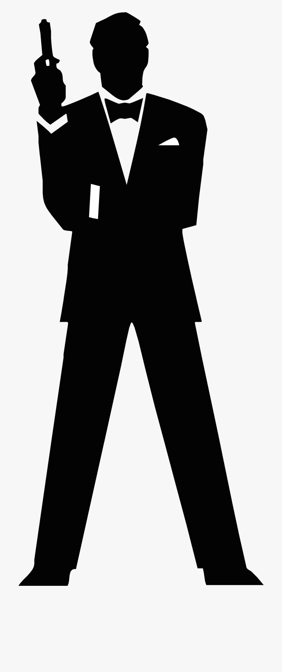 Bond 007 clipart clipart transparent library Agent Cliparts - James Bond 007 Silhouette #495958 - Free Cliparts ... clipart transparent library