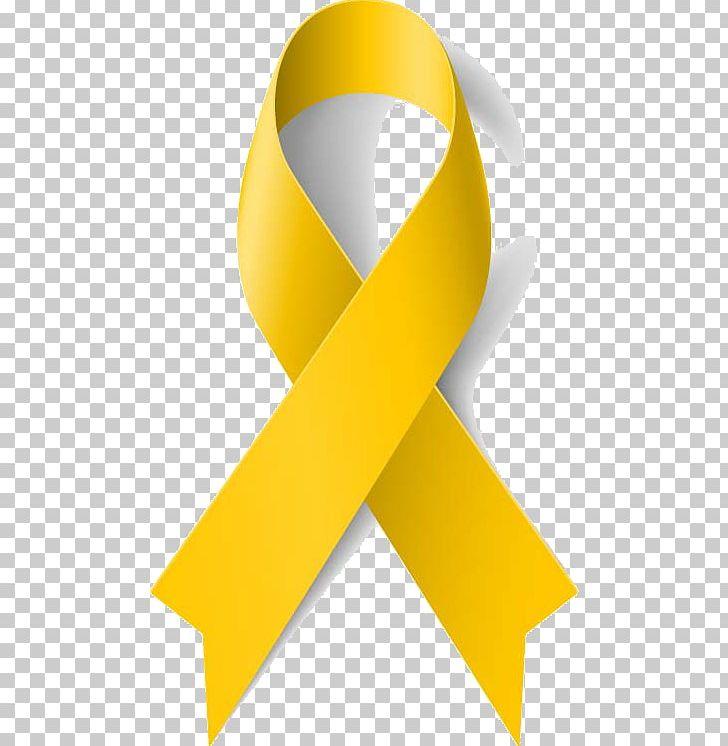 Yellow ribbon images clipart image Yellow Ribbon Awareness Ribbon Cancer PNG, Clipart, Angle, Bone ... image