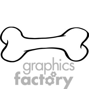 Bone drawings clipart image library download Royalty-Free-RF-Copyright-Safe-Cartoon-Dog-Bone clipart. Royalty ... image library download