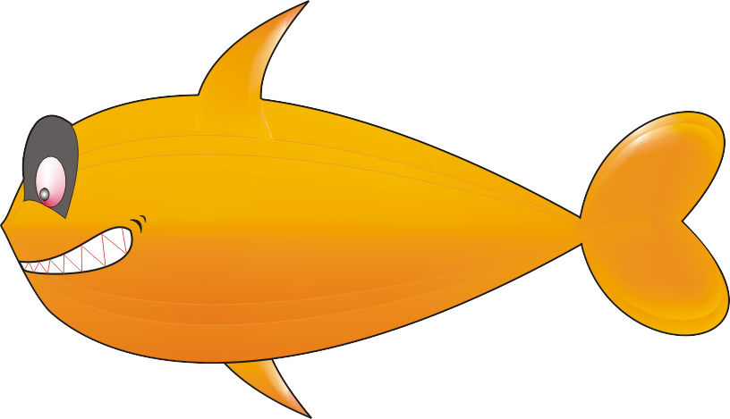 Flopping fish clipart. Salmon animated free on
