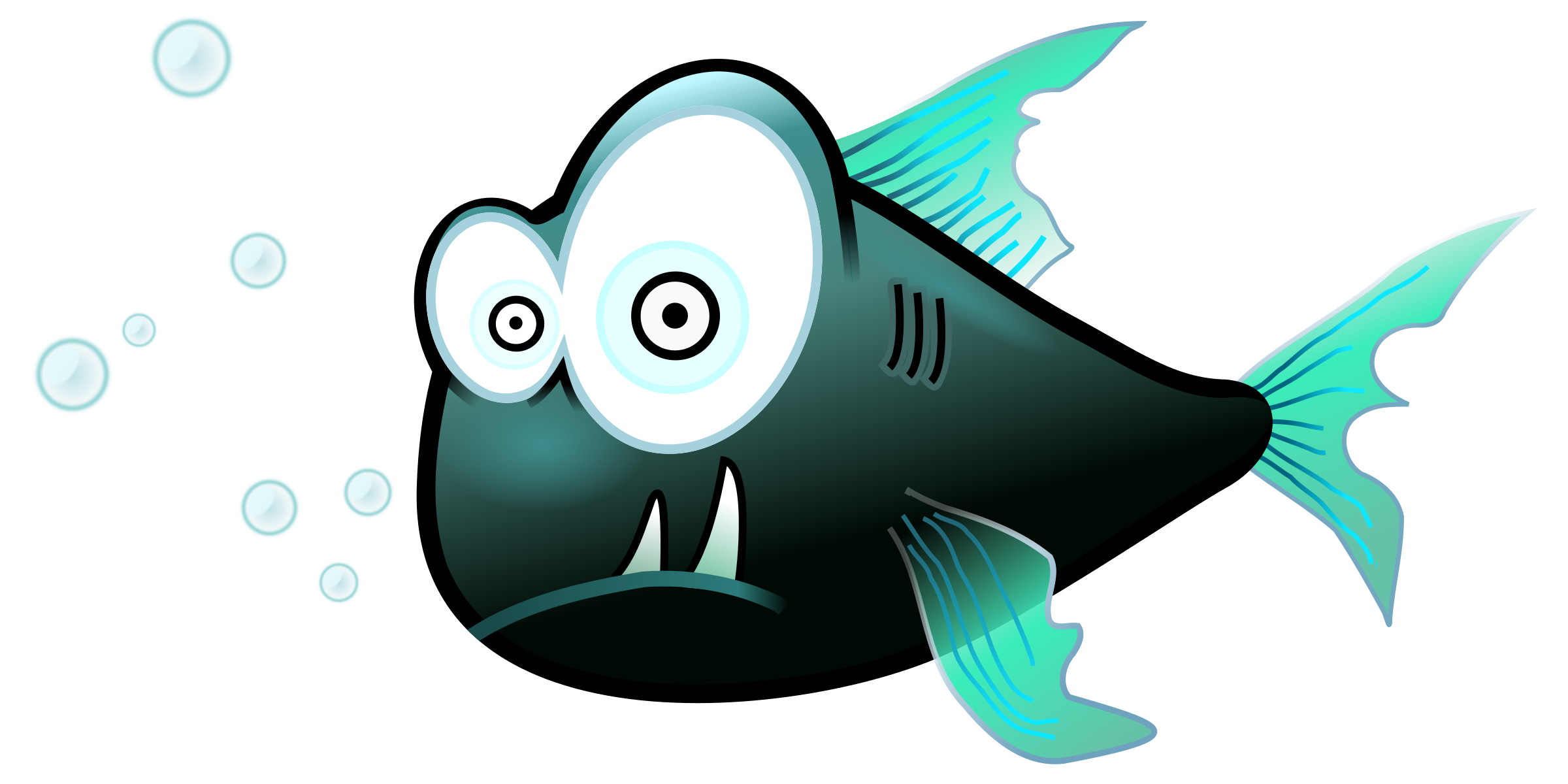 Bone fish clipart image freeuse download Piranha Clipart Hungry Free collection | Download and share Piranha ... image freeuse download