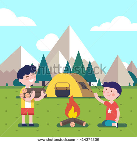 Bonfire with kids clipart svg transparent download Kids Campfire Stock Images, Royalty-Free Images & Vectors ... svg transparent download