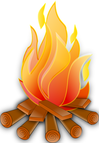 Bonfire with kids clipart clip art freeuse Bonfire Clipart - Clipart Kid clip art freeuse