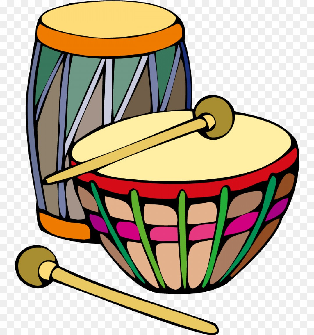 Bongo drums clipart clipart black and white library Png Bongo Drum Clip Art Cartoon Vector Color Drum | GeekChicPro clipart black and white library