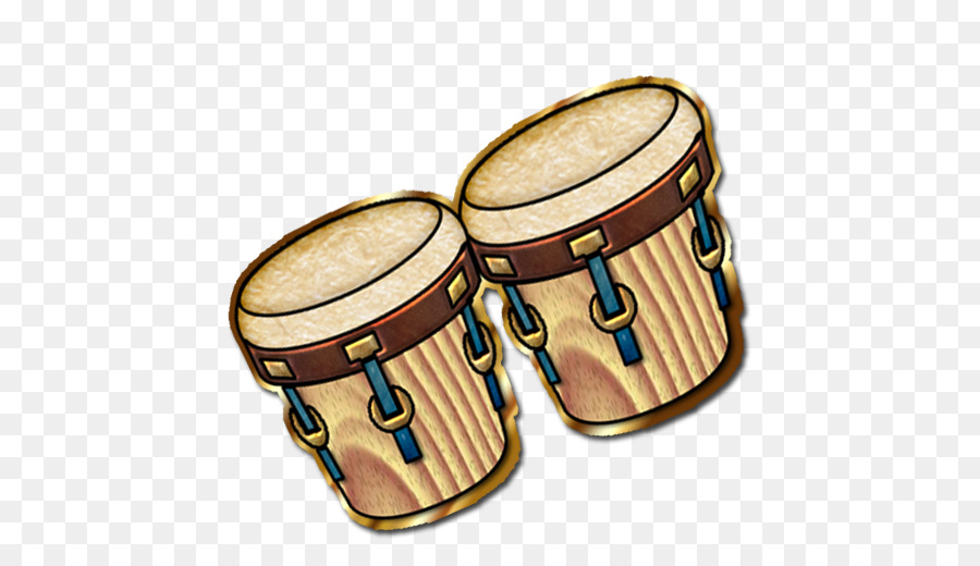 Bongo drums clipart image black and white Bongo Drum Musical Instrument png download - 512*512 - Free ... image black and white