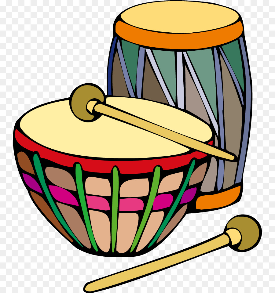 World drumming clipart vector library stock Bongo Drum Hand Drum png download - 815*960 - Free Transparent Bongo ... vector library stock