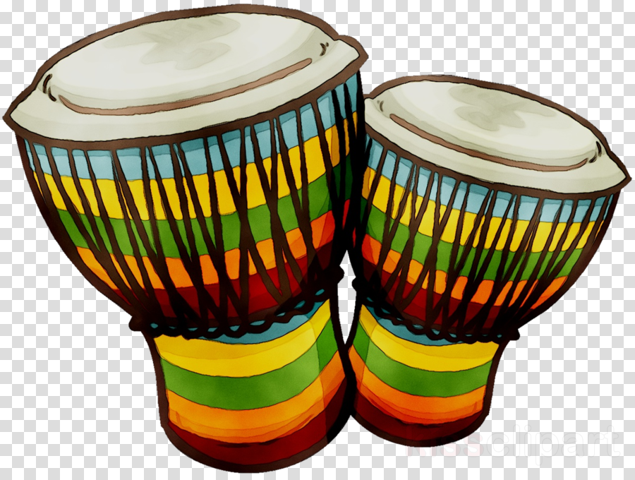 Bongo drums clipart black and white Hand Cartoon clipart - Drum, transparent clip art black and white