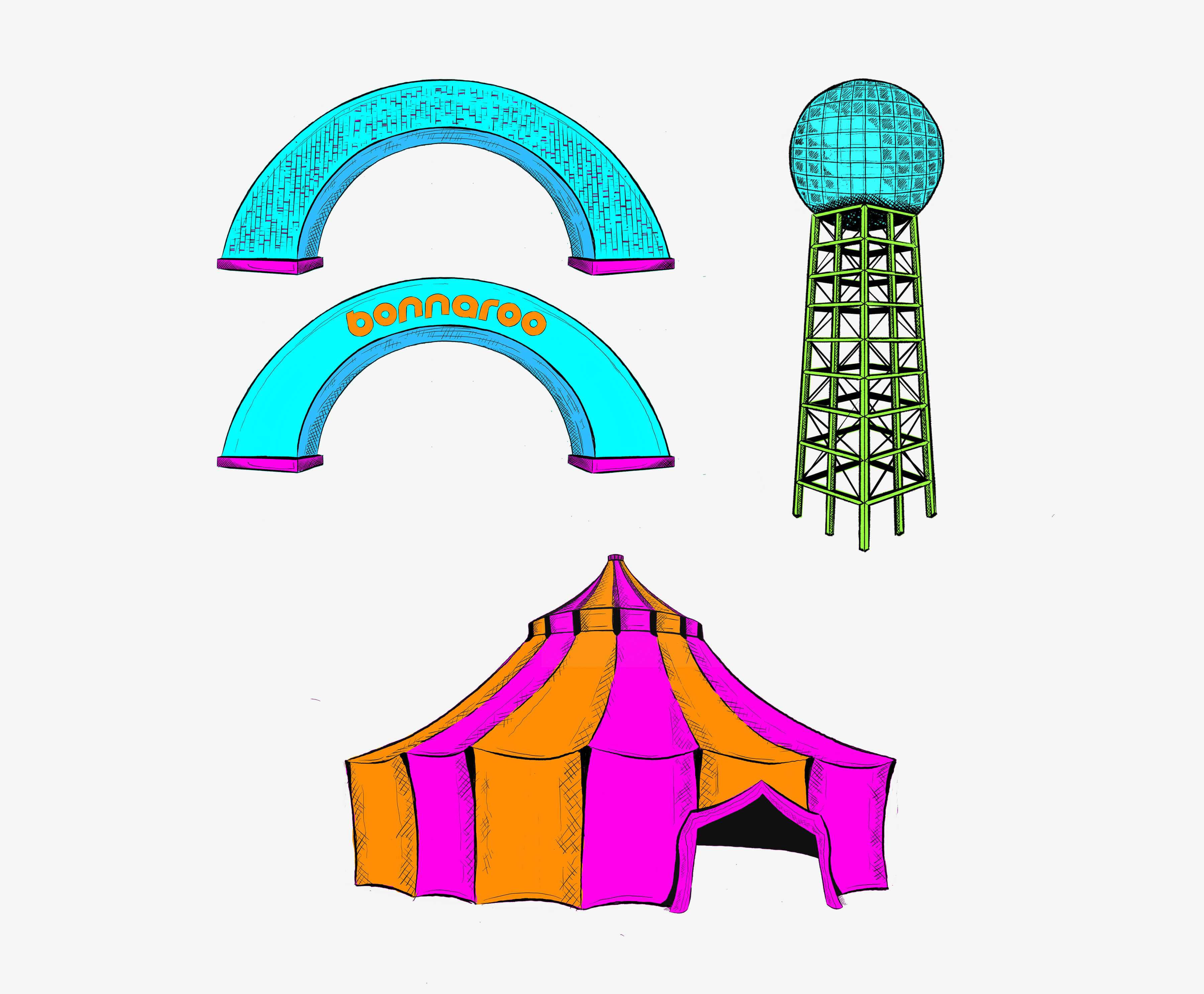 Bonneroo clipart png free download Bonnaroo Music & Arts Festival - ST8MNT BRAND AGENCY png free download