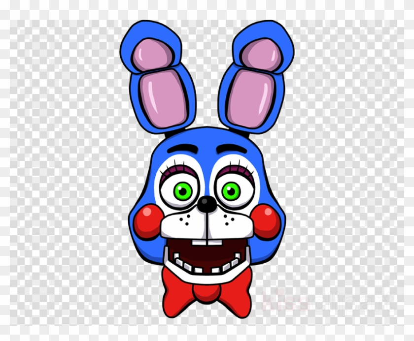 Bonnie from five nights at freddy s clipart picture library Fnaf Toy Bonnie Head Clipart Five Nights At Freddy\'s - Play Icon No ... picture library