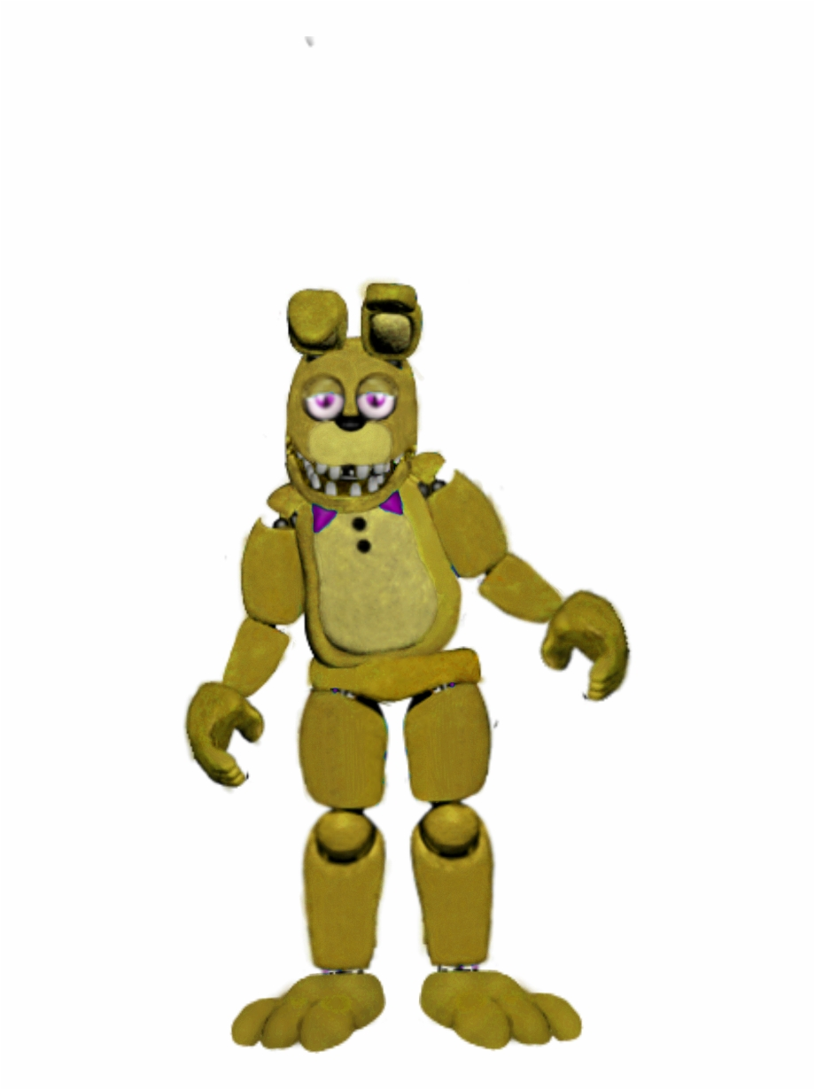 Bonnie from five nights at freddy s clipart freeuse Unwithered Bonnie As Springbonnie Five Nights At Freddy\'s, - Bonnie ... freeuse