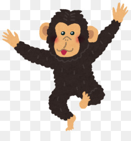 Bonobos clipart clip royalty free library Monkey Cartoon 1024*1024 transprent Png Free Download - Head ... clip royalty free library