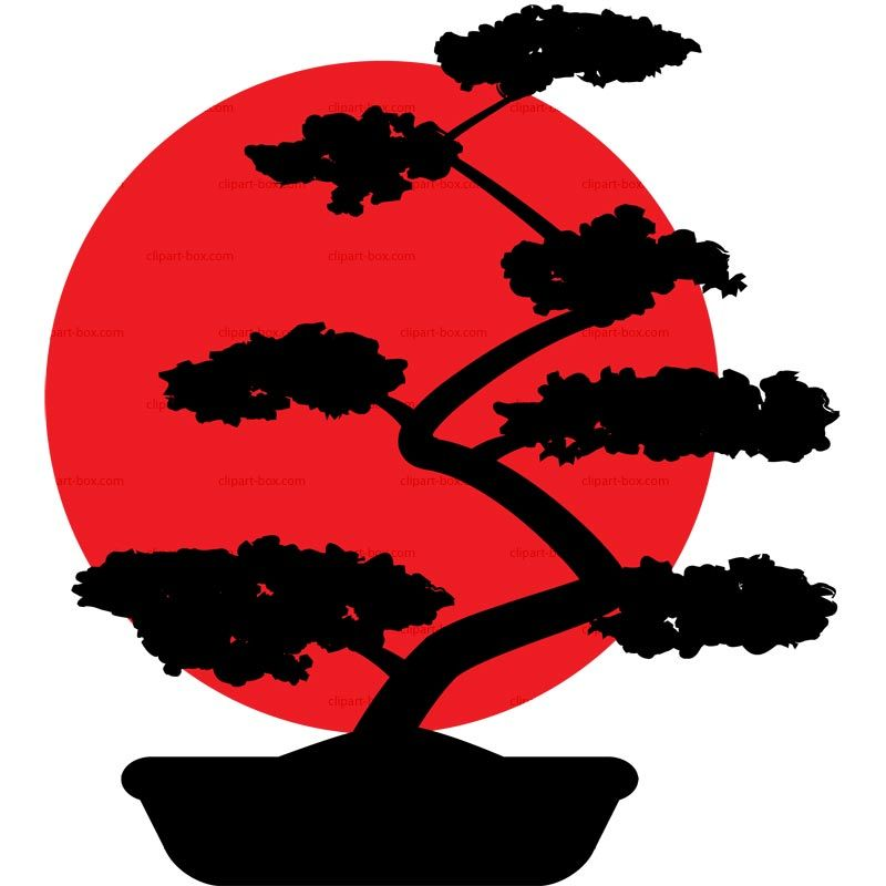Bonsai images clipart picture freeuse Bonsai Tree Silhouette Clip Art | Car Interior Design | bonsai ... picture freeuse
