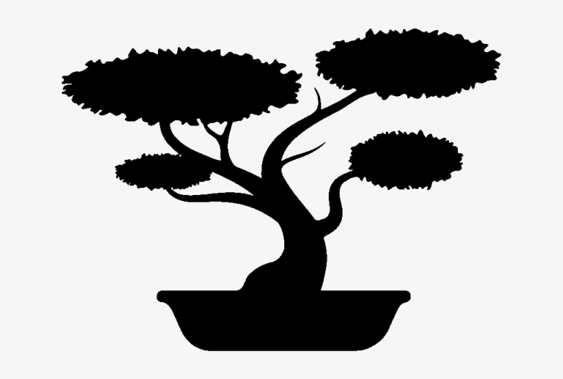 Bonsai images clipart vector library download Bonsai Clipart Silhouette - Tree Silhouette Bonsai Clipart - Free ... vector library download