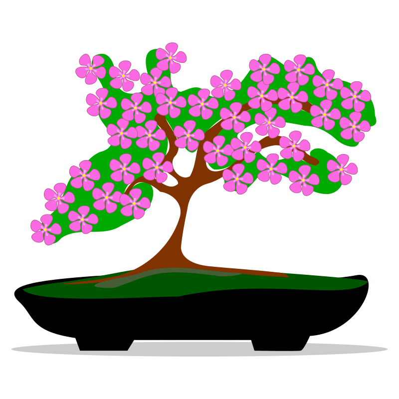 Bonsai tree clipart jpg Clipart - bonsai-01 jpg