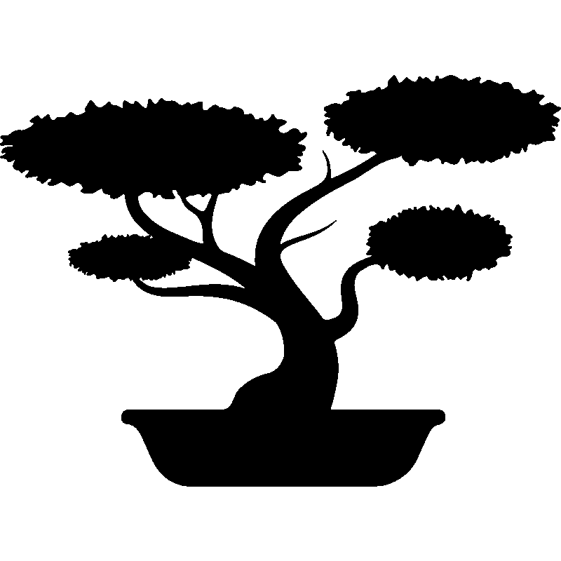 Bonsai tree clipart picture transparent stock Bonsai Silhouette at GetDrawings.com | Free for personal use Bonsai ... picture transparent stock