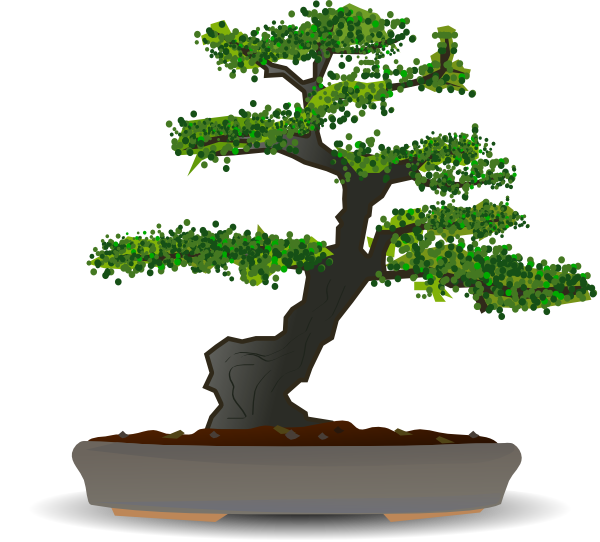 Bonsai tree clipart svg royalty free stock Bonsai Tree Clipart svg royalty free stock