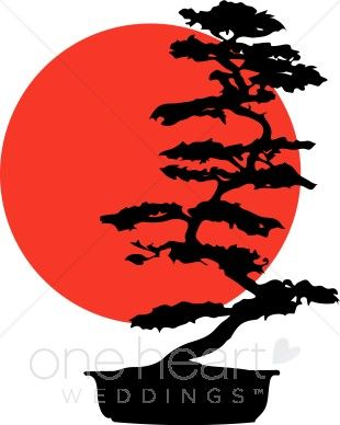 Japanese art clipart clipart royalty free Bonsai Tree Silhouette | Bonsai Tree Clipart | Soap making in 2019 ... clipart royalty free