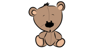 Bonus bear clipart banner freeuse library Teddy Bear- Clipart- For Personal or Commercial use by Klipart ... banner freeuse library