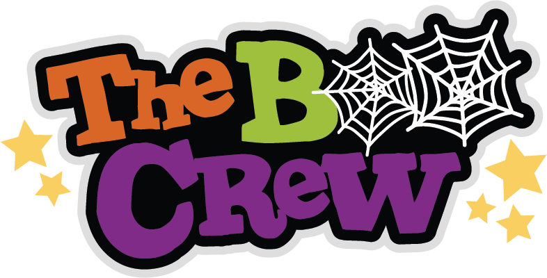 Boo clipart for halloween vector free download The Boo Crew SVG scrapbook title halloween svg cut file halloween ... vector free download