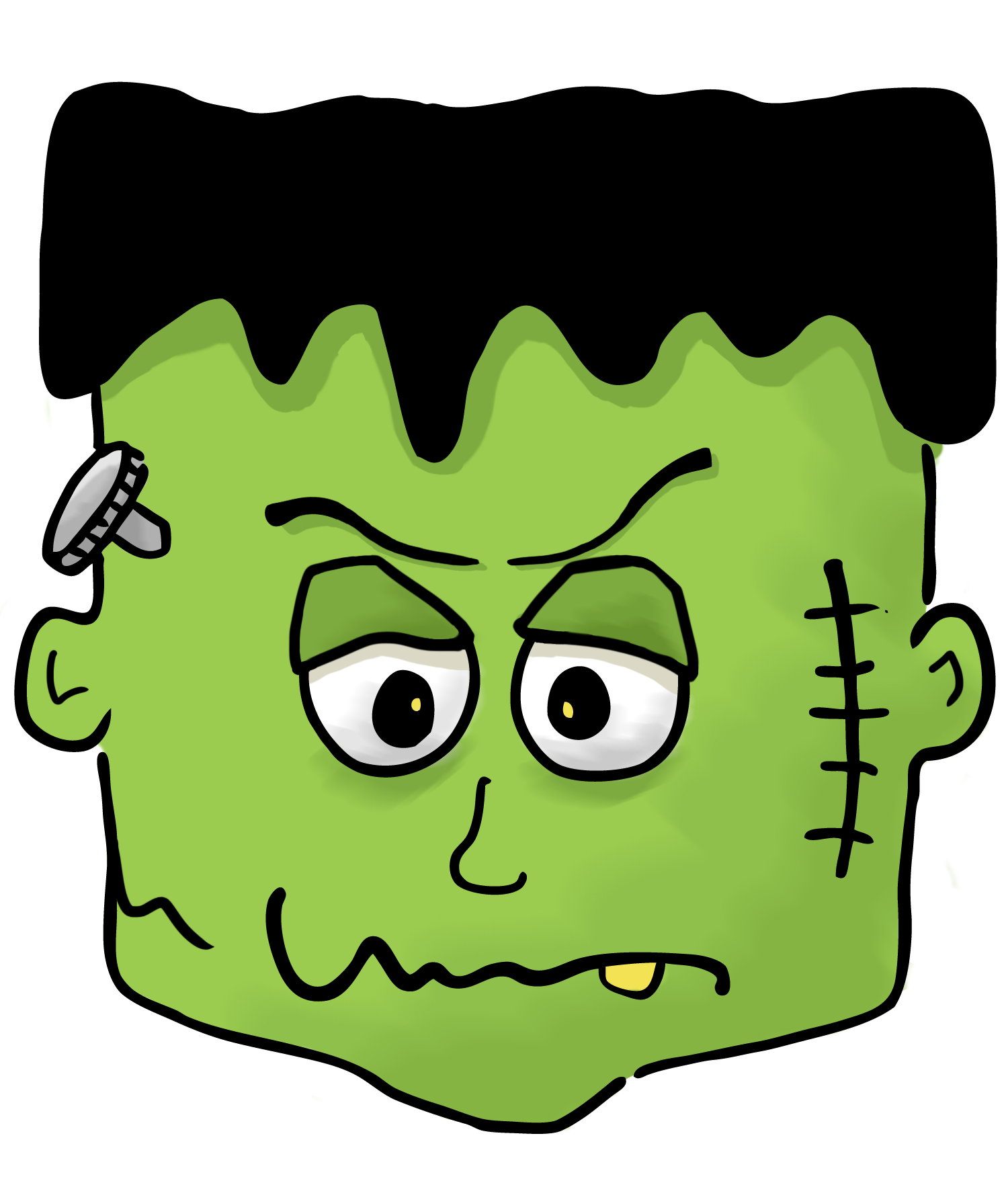 Boo clipart for halloween clipart Halloween Frankenstein Clipart Kid clipart