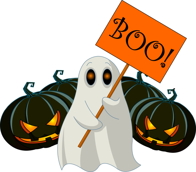 Halloween clipart karate png free stock 28+ Collection of Boo Halloween Clipart | High quality, free ... png free stock