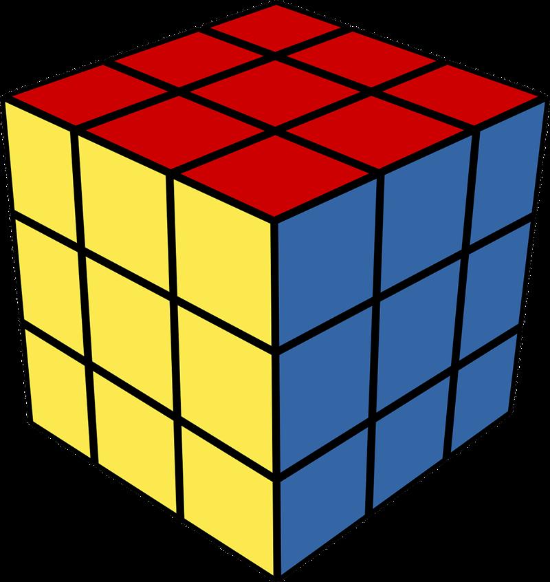 Book 3d clipart vector free stock Magic cube clipart - Clipground vector free stock