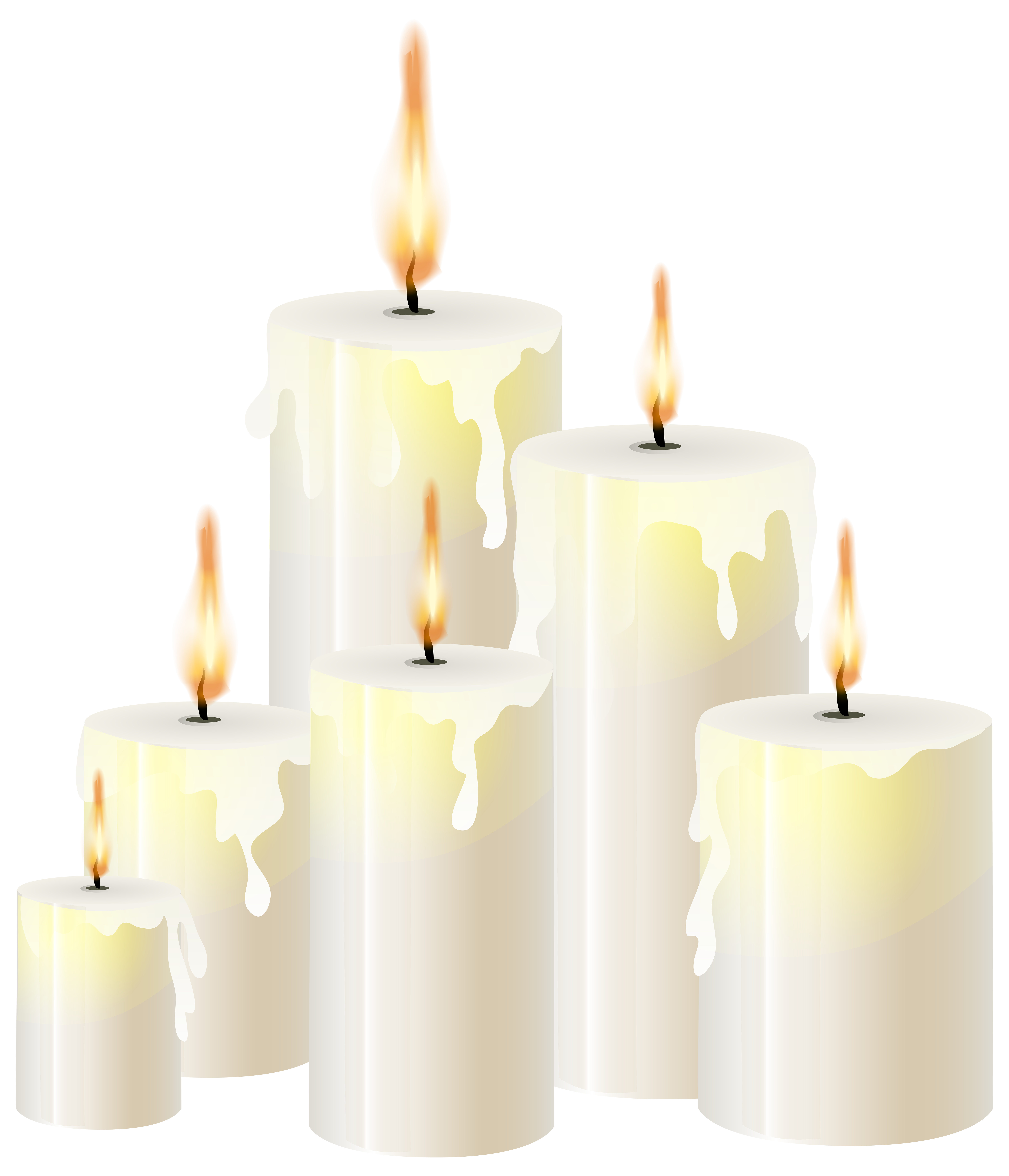 Book and candle clipart graphic black and white White Candles PNG Clip Art - Best WEB Clipart graphic black and white
