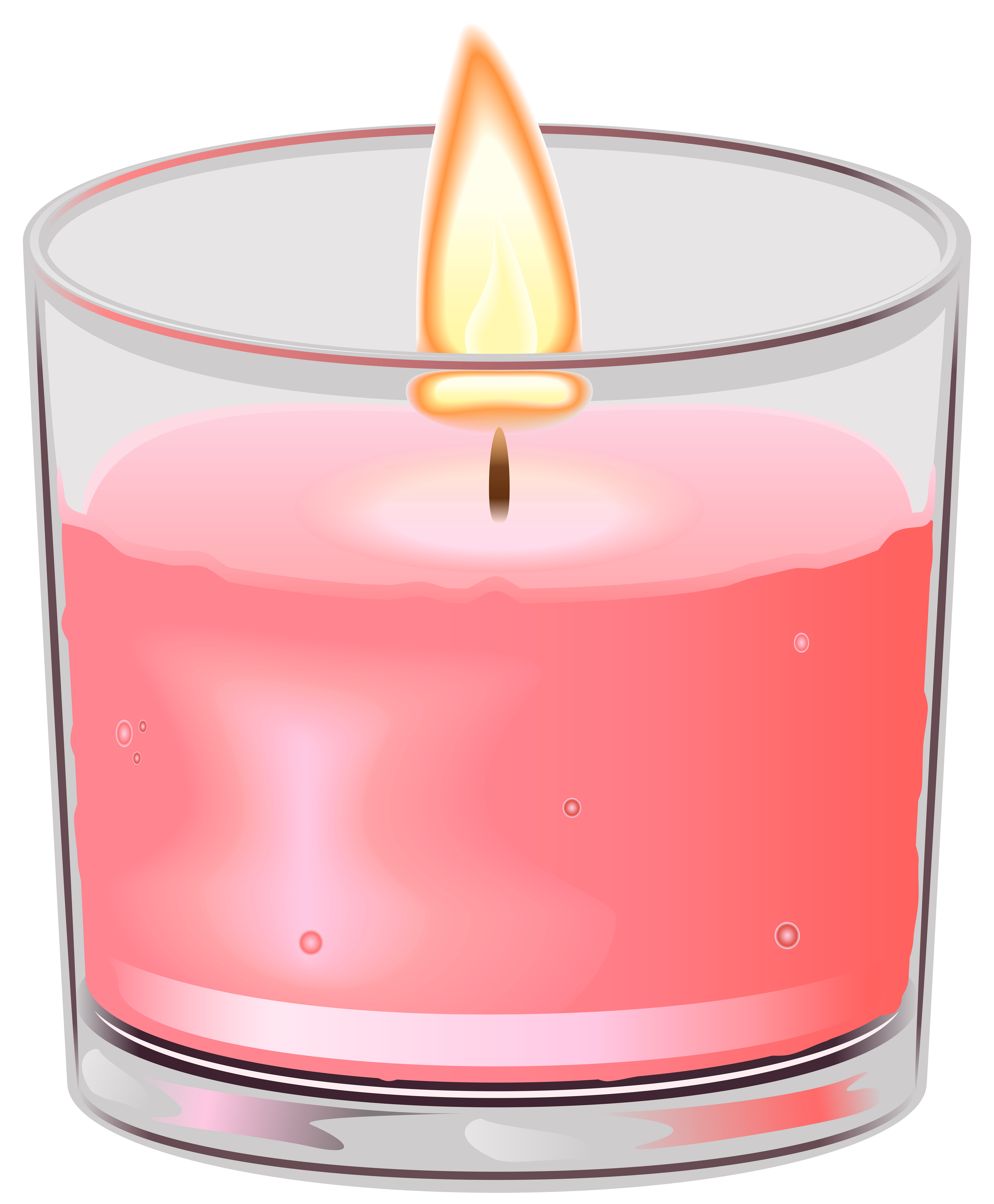 Book and candle clipart svg freeuse library Candle in Cup PNG Clip Art - Best WEB Clipart svg freeuse library