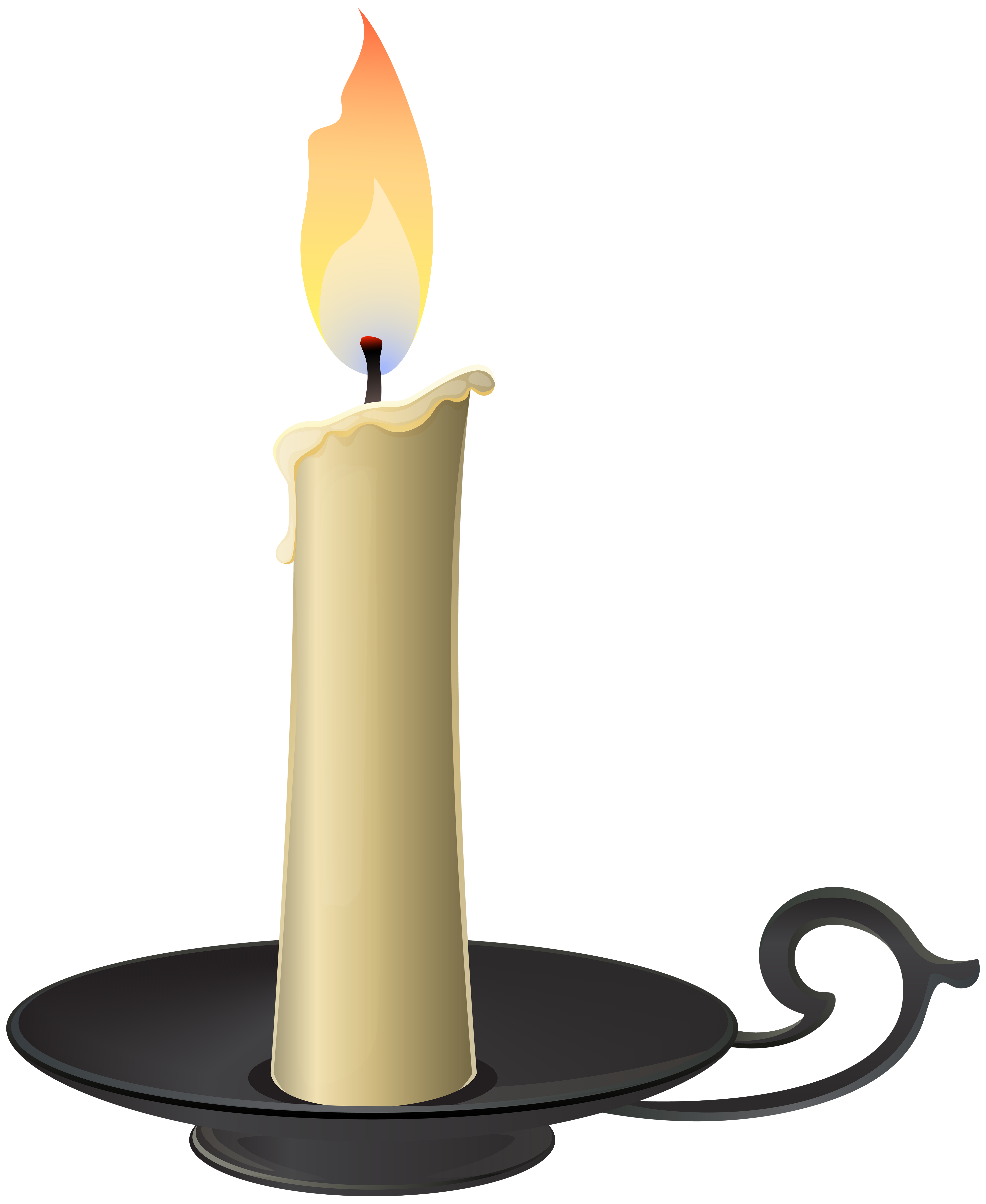 Book and candle clipart png download Candlestick PNG Clip Art - Best WEB Clipart png download