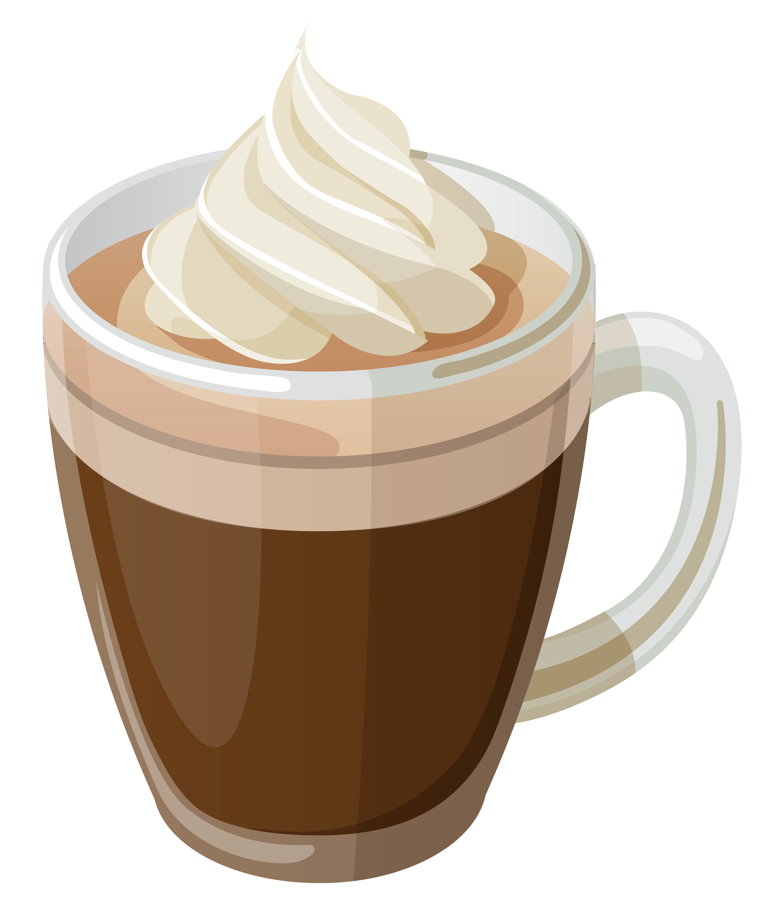Cute caramel apple clipart. Coffee with cream png