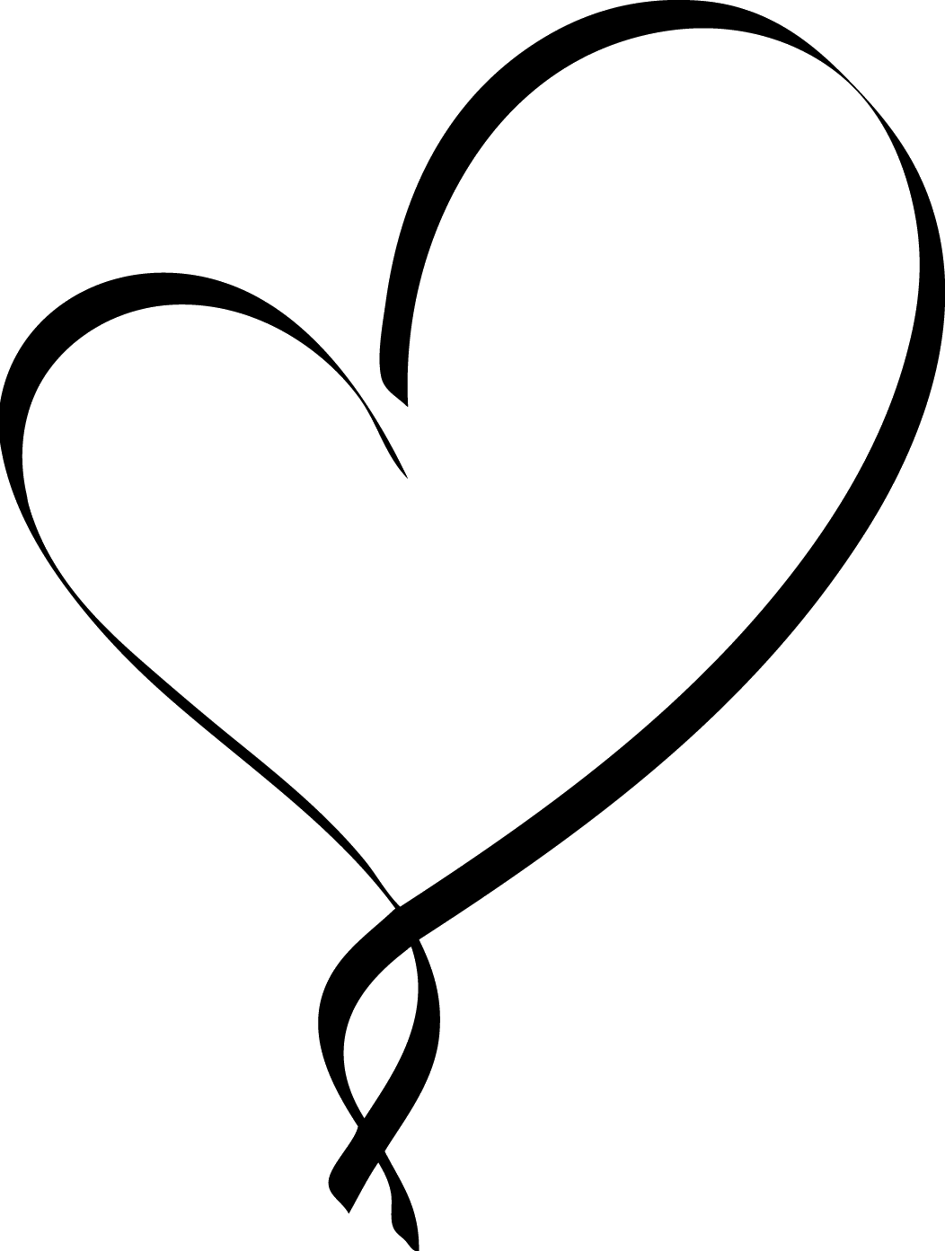 Book and heart clipart image download Heart Symbol Clip art - Script Clipart 1052*1393 transprent Png Free ... image download