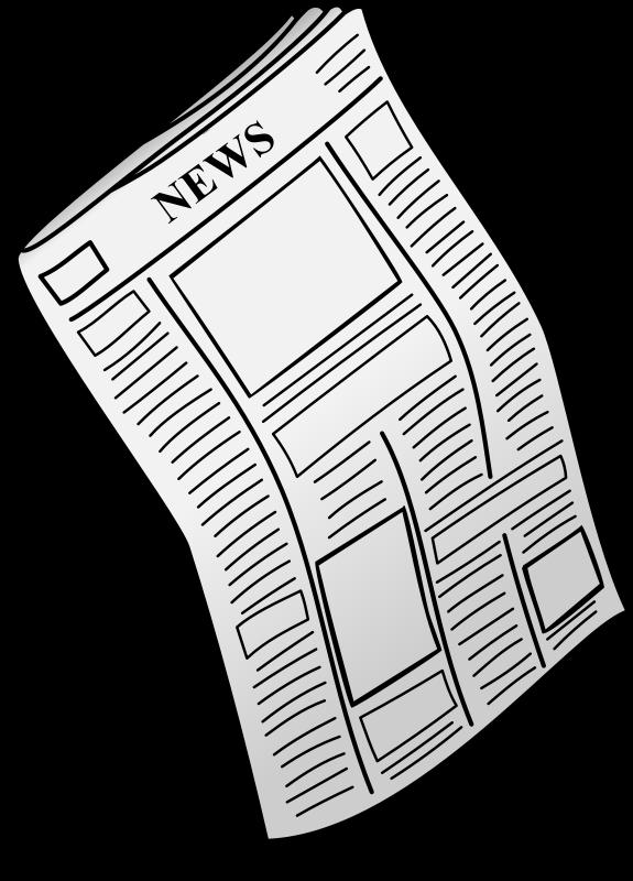 Newspaper Clip Art Work | Clipart Panda - Free Clipart Images vector stock