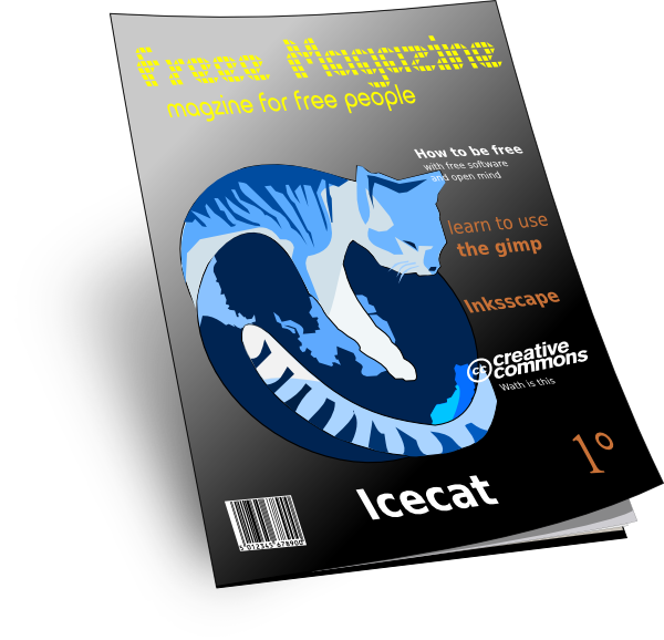 Magazine 3d Clip Art at Clker.com - vector clip art online, royalty ... clipart free library