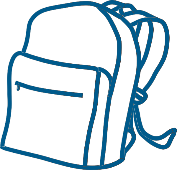Bookbag Clipart Black And White | Clipart Panda - Free Clipart Images jpg royalty free