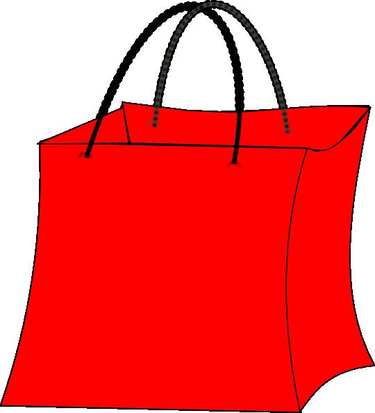 Book bag clipart free clip transparent Red Bag Clip Art at Clker.com - vector clip art online, royalty free ... clip transparent