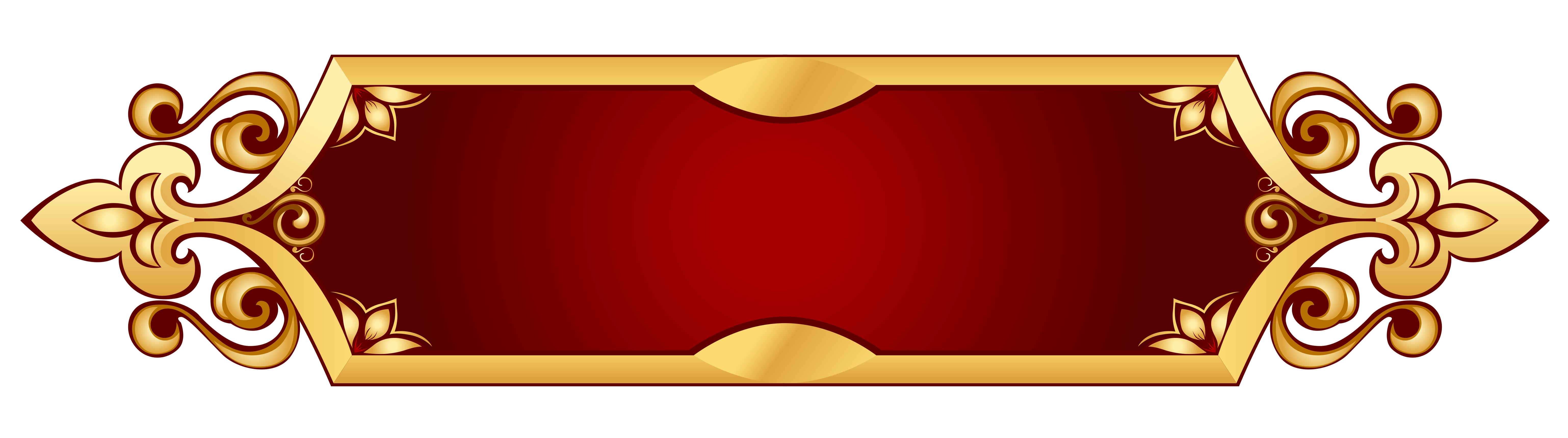 Book banner clipart picture royalty free Decorative Banner Transparent PNG Picture | Gallery Yopriceville ... picture royalty free
